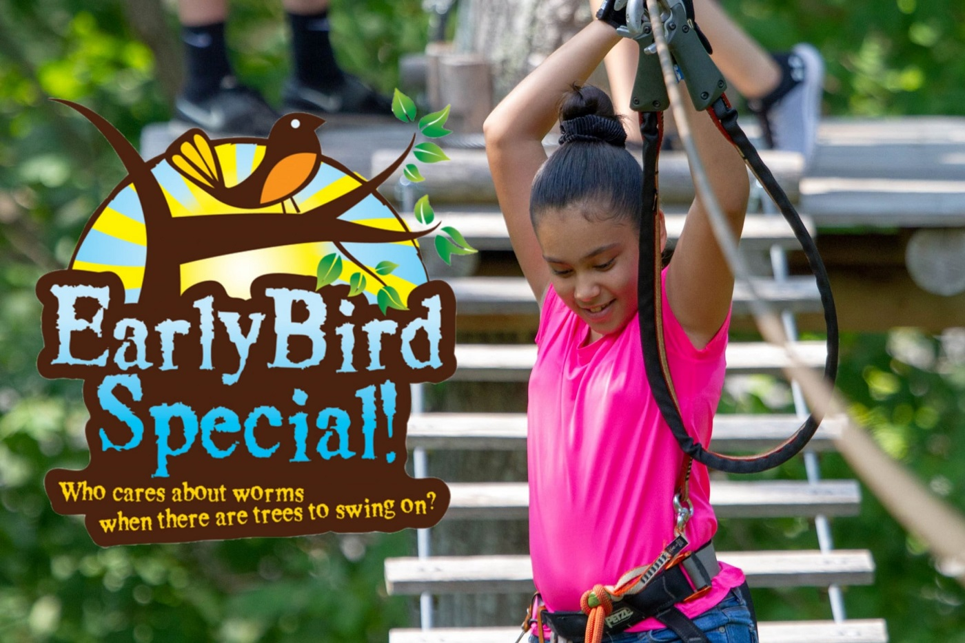 Early Bird Special - Gaston, OR - Tree to Tree Adventure Park